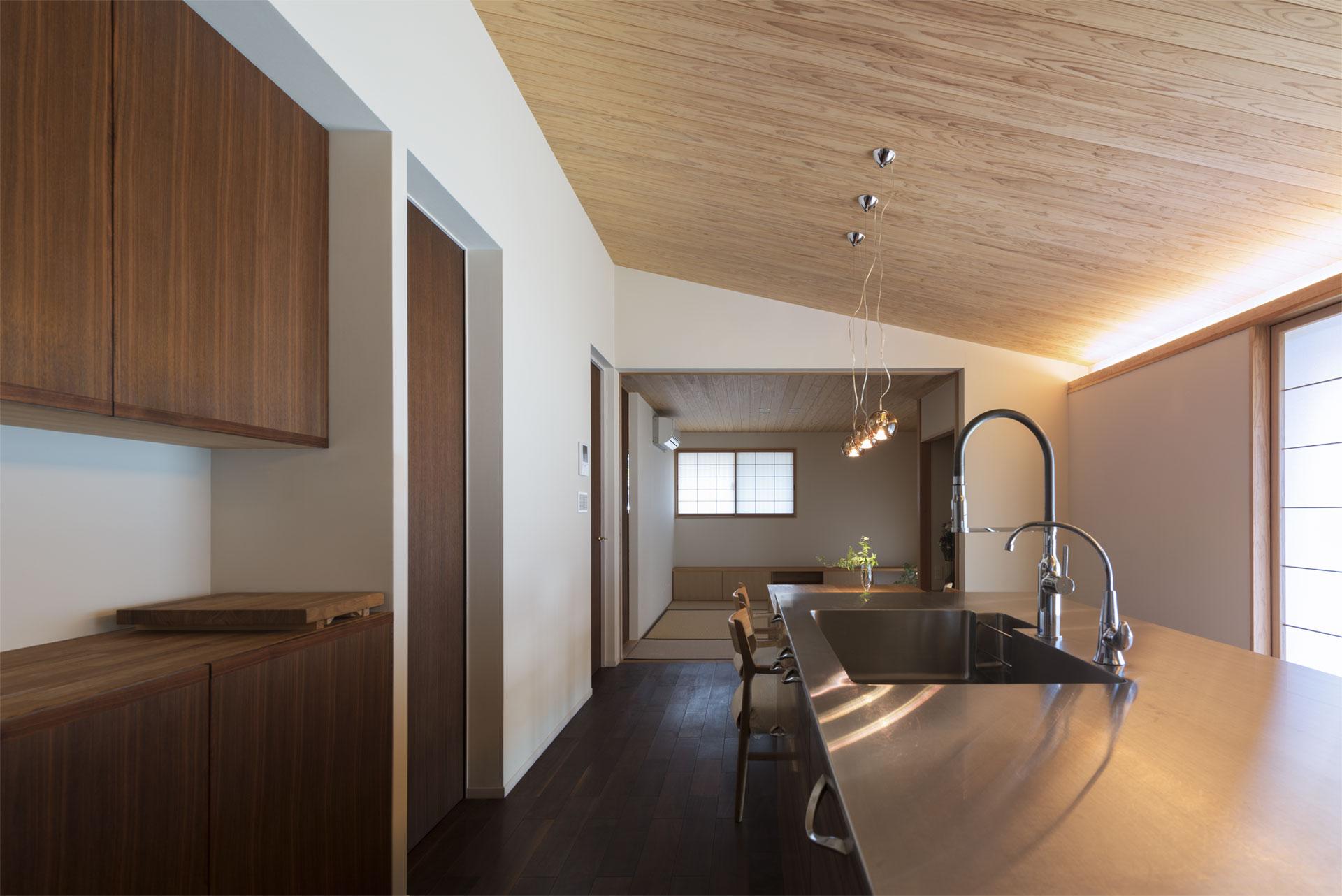 和式のキッチン